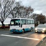 夜明けのツーエー観光バス